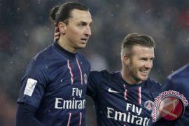 Menang taruhan, Beckham unggah foto Ibrahimovic berseragam Timnas Inggris