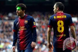 Klasemen Liga Spanyol: Barcelona teratas, Valencia kedua