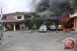 Seorang korban penyerangan di Polres OKU meninggal