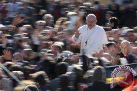 Paus Fransiskus menunjuk kardinal Argentina