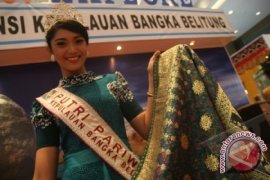 Pemkab Bangka Barat dorong inovasi produk kain tenun lokal