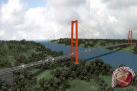 Jembatan Pulau Balang Ditargetkan Tuntas Akhir 2018