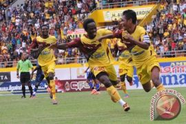 Sriwijaya FC ditahan imbang Mitra Kukar 2-2