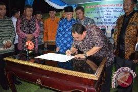 PWI-Pemprov Bengkulu tandatangani MoU HPN 2014