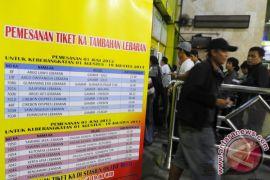 Tiket kereta api dari Semarang sampai 16 Oktober ludes