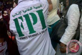 FPI turut mengamankan jamaah tahlilan Uje
