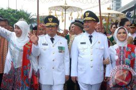 Pelantikan Gubernur Jabar di Gedung Merdeka