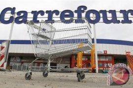Saham Carrefour untung besar di tengah penguatan Bursa Perancis