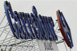 Saham Carrefour rontok meski Bursa Perancis menguat 57,85 poin