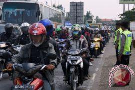 Arus mudik Indramayu arah Cirebon ramai lancar