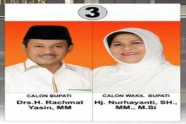 Rachmat  Yasin menangkan Pilkada Kabupaten Bogor