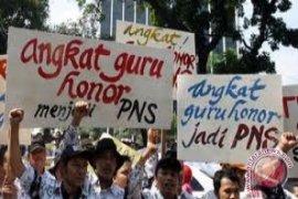 Honorer K2 Penajam Tuntut Diangkat Jadi PNS