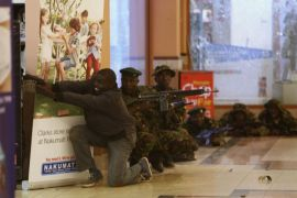 Pasukan Kenya tembak mati lima penyerang mall