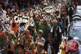 Festival  Mahakam Akan Dimeriahkan Parade Hudoq
