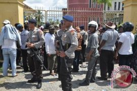 Sebanyak 640 personel TNi-Polri amankan pleno KPU Mimika