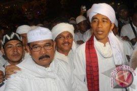Jokowi Ikuti Pawai Malam Takbiran