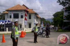 Polisi Amankan Peresmian Museum Timah Indonesia Muntok