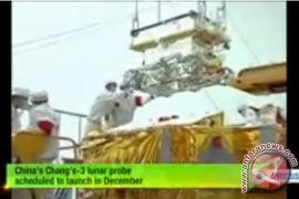 China luncurkan Chang'e-3 ke bulan awal Desember