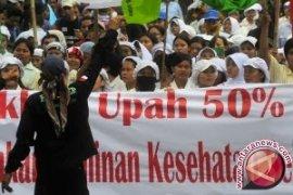 Polisi-TNI jaga pintu tol Tangerang antisipasi demo buruh