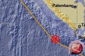 Gempa 5,1 SR di Lampung Barat