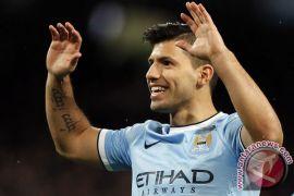 Aguero cekcok dengan fans Wigan, FA didesak bertindak