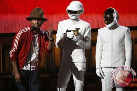 Pharrell Williams raih Best Pop Solo Performance Grammy