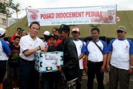 Indocement buka posko kesehatan korban banjir Pati