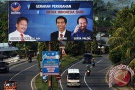 Foto Jokowi Di Baliho NasDem