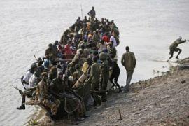 Oposisi Sudan mulai pemogokan hari  pertama