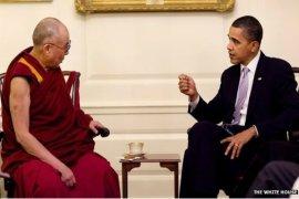 Obama Bertemu Dalai Lama, China Jengkel