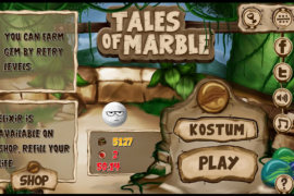 "Kelereng menginspirasi game ""Tales of Marble"""