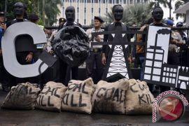 Greenpeace minta bank Singapura akhiri pendanaan batubara