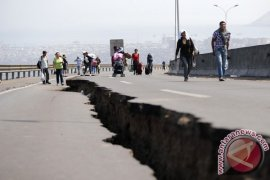 Gempa dengan magnitudo 6 guncang  Chile