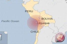 Gempa bermagnitudo 6,0 guncang Chile  tengah