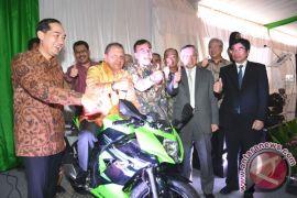 """Ninja RR mono """"made in Indonesia"""" akan diekspor ke Jepang"""