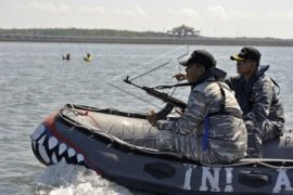 Lanal Denpasar bersama sejawat maritim siap amankan Natal-Tahun Baru