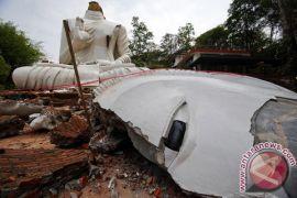 Bocah tewas, tujuh orang hilang akibat topan Mangkhut di Thailand