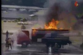 Truk tangki BBM meledak, tewaskan 57 orang dan puluhan lainnya terluka