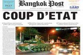 Raja Thailand Terima Laporan Kudeta Militer