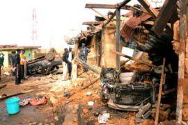 Ledakan di Nigeria tewaskan tujuh orang