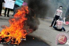 HMI Pontianak Tolak Tidak Kekerasan  TNI Polri