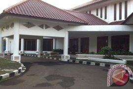 Rumah dinas Bupati Bogor sepi