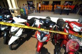 Polresta Tangerang bekuk lima pelaku pencuri motor