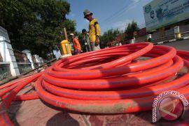 Menkominfo: seluruh kabupaten-kota terhubung fiber optik