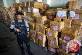 182 Polisi Amankan Logistik dan TPS