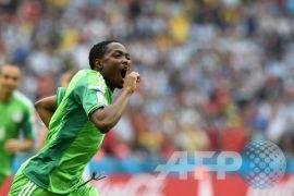 Ahmed Musa jadi andalan Nigeria saat hadapi Islandia