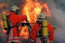 Bangunan Genset TVRI Sanggau Ludes Terbakar