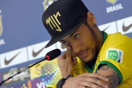 Kebugaran Neymar jadi sorotan jelang Brasil vs Kroasia