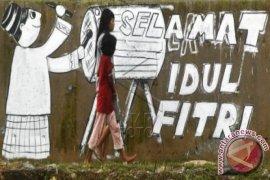 Mural Idul Fitri