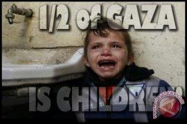 PBB: Hampir 300 anak dan remaja palestina tewas di Gaza